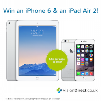 Join VisionDirect.co.uk on Facebook!