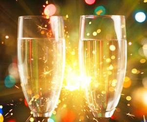 Concilier fêtes de fin d'année et lentilles de contact