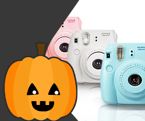 Halloween costume competition: Win a Fujifilm Instax Mini 8