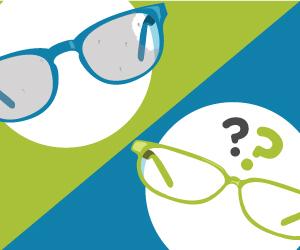 Le Top 5 des problèmes rencontrés par les porteurs de lunettes