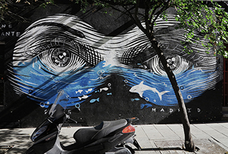 Eye-catching street art
