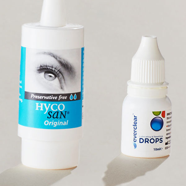 Soothe your eyes with our bestselling eye drops