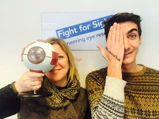 Vision Direct teams up with Fight for Sight for #BlinkWinkThink