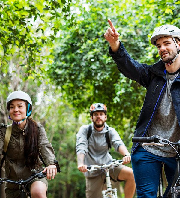 5 consejos para montar en bicicleta con lentillas