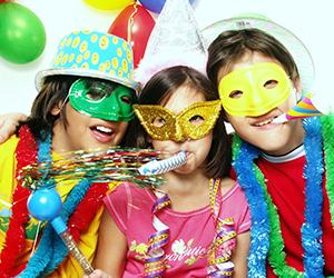 Juegos infantiles para Carnaval