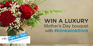 Win a marvellous Mother's Day bouquet with #BlinkWinkThink