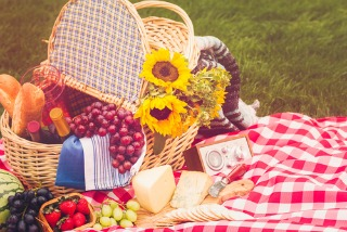 The perfect picnic: Healthy, hearty recipes & tasty treats