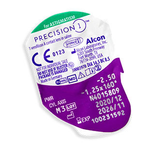 Precision 1 for Astigmatism 90 Pack