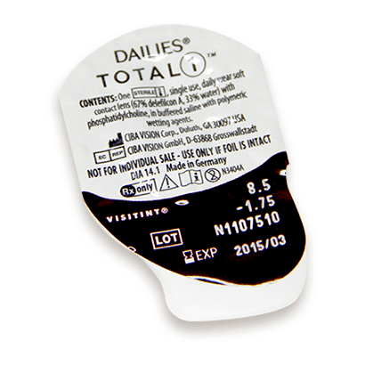 73165d9061b55e Dailies Total 1 Contact Lenses   Vision Direct UK