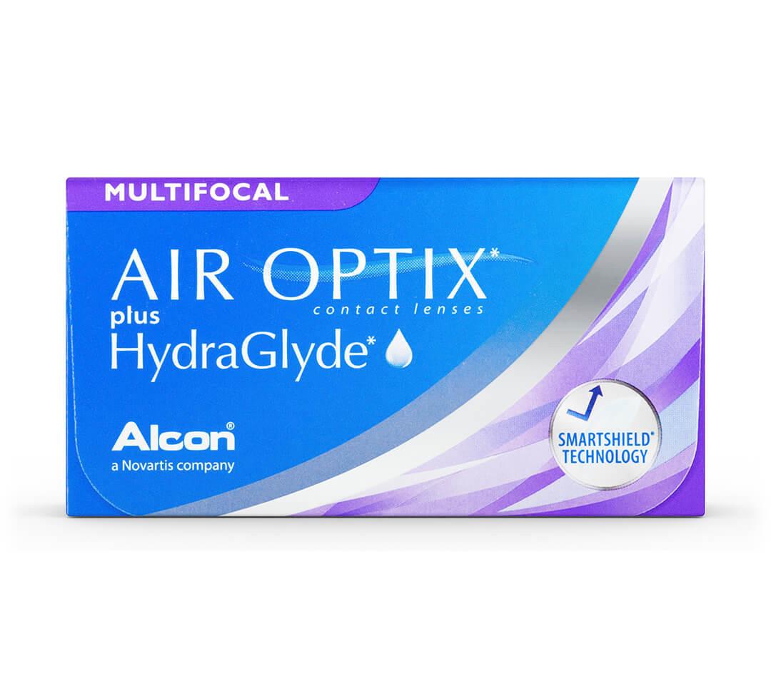 Air Optix plus HydraGlyde Multifocal 6 Pack