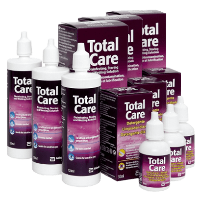Total Care Multipack (Solution & Cleaner)