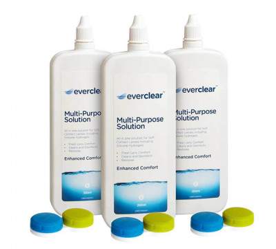 everclear Flat Pack Multi-Purpose solution – pack of 3