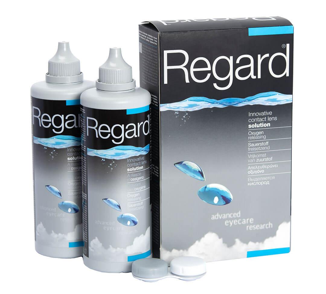 Regard Contact Lens Solution - 2 pack