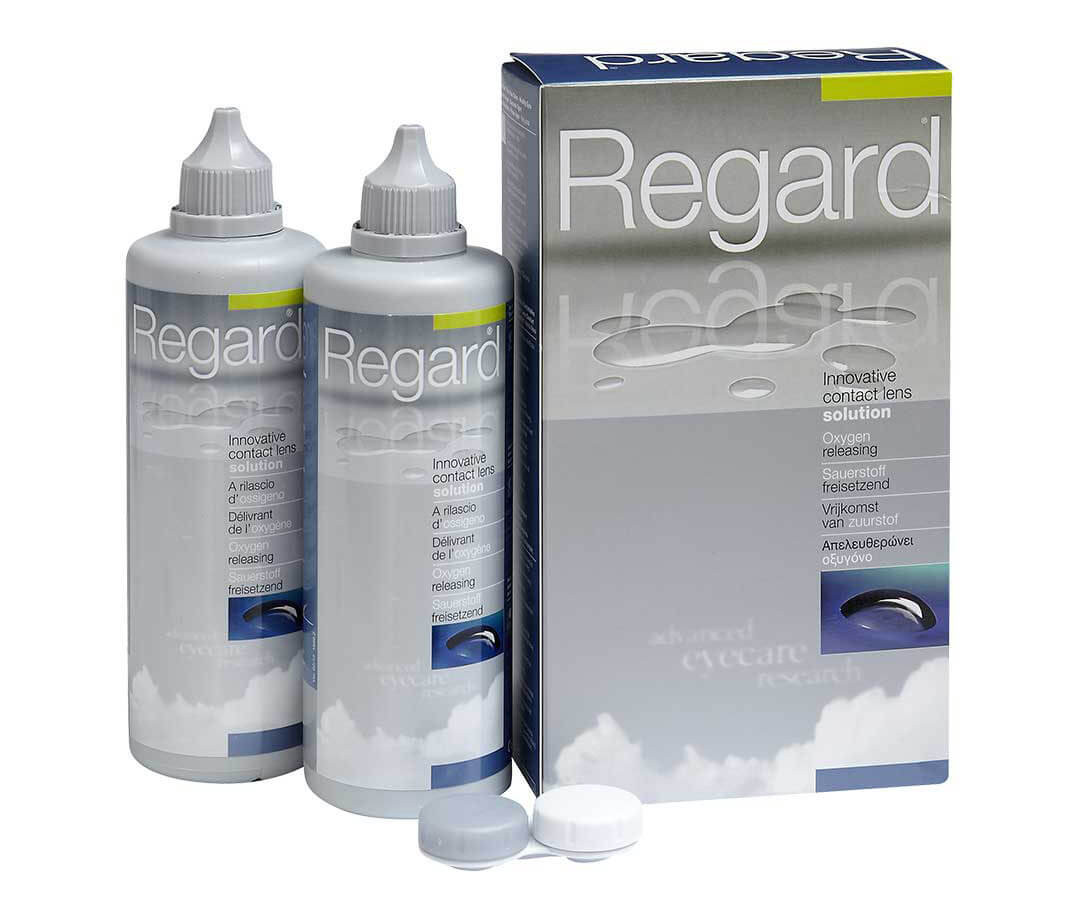 Regard Contact Lens Solution - 2 pack