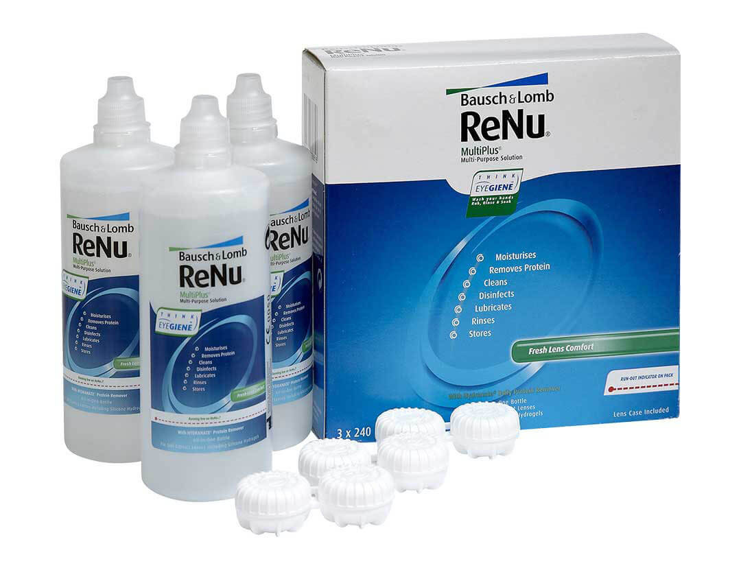 Renu Multiplus Contact Lens Solutions Vision Direct Uk