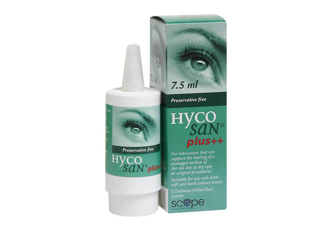 Hycosan Plus Eye Drops