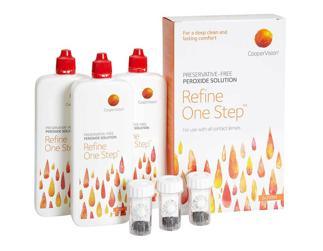 Refine One Step Contact Lens Solutions Vision Direct Uk