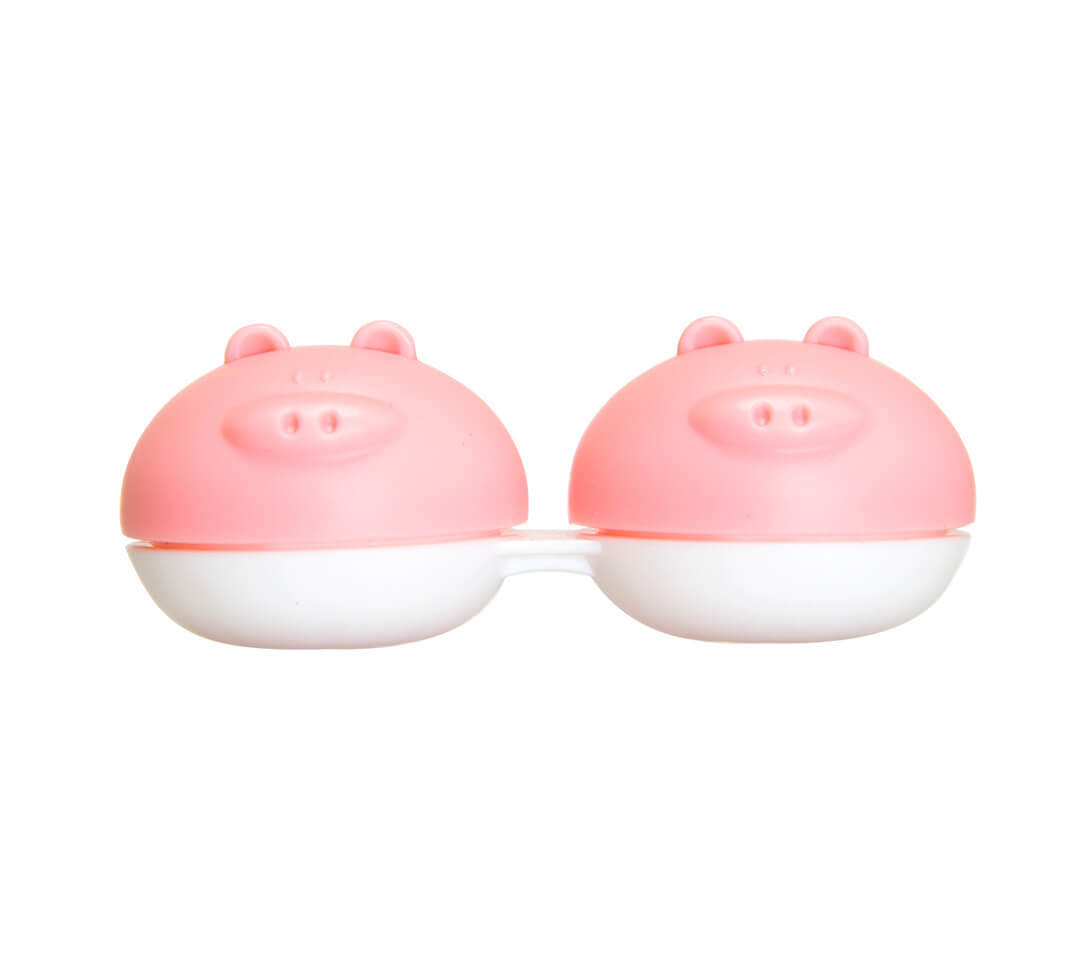 Mr Oink Contact Lens Case