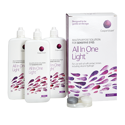 All In One Light   Contact Lens Solutions   Vision Direct Ireland d41e818017