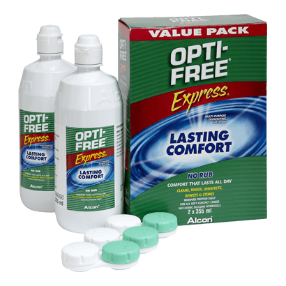 Opti-Free Express Duo   Contact Lens Solutions   Vision Direct Ireland 60f18e3567