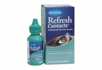 Refresh Contacts Oogdruppels