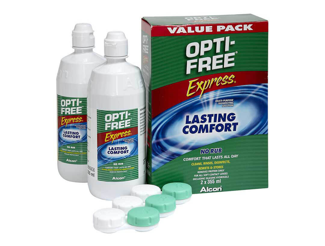 Opti-Free Express Duo Pack