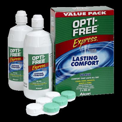 Opti-Free Express Duo Pack