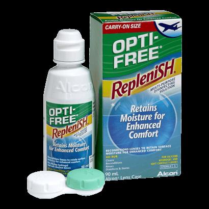 Opti-Free RepleniSH Flight Pack