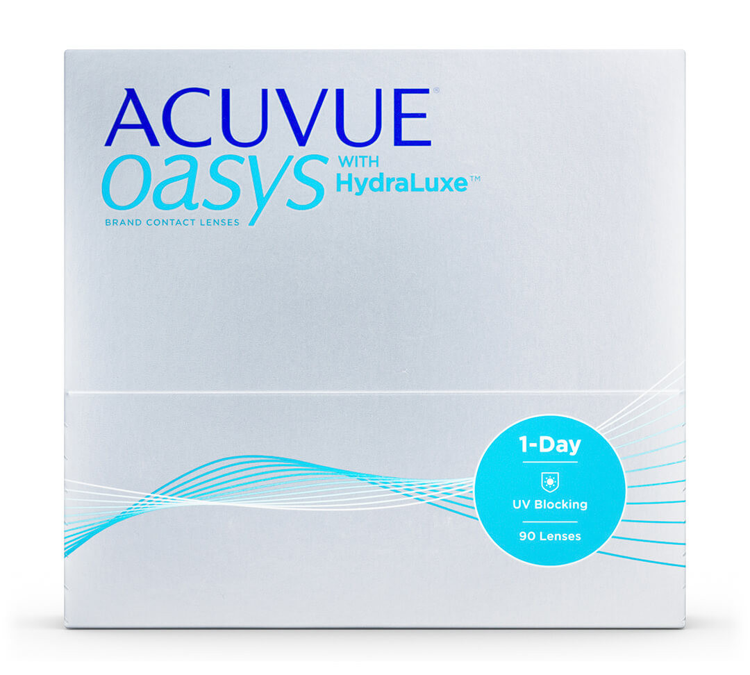 Acuvue Oasys 1 Day with HydraLuxe™ (Pack de 90)