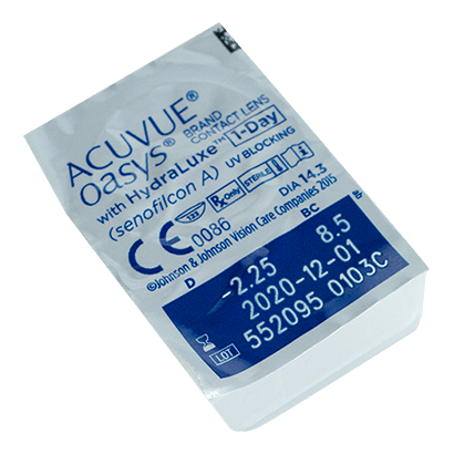 e848adc554424 Acuvue® Oasys® 1-Day with Hydraluxe™ Lentillas
