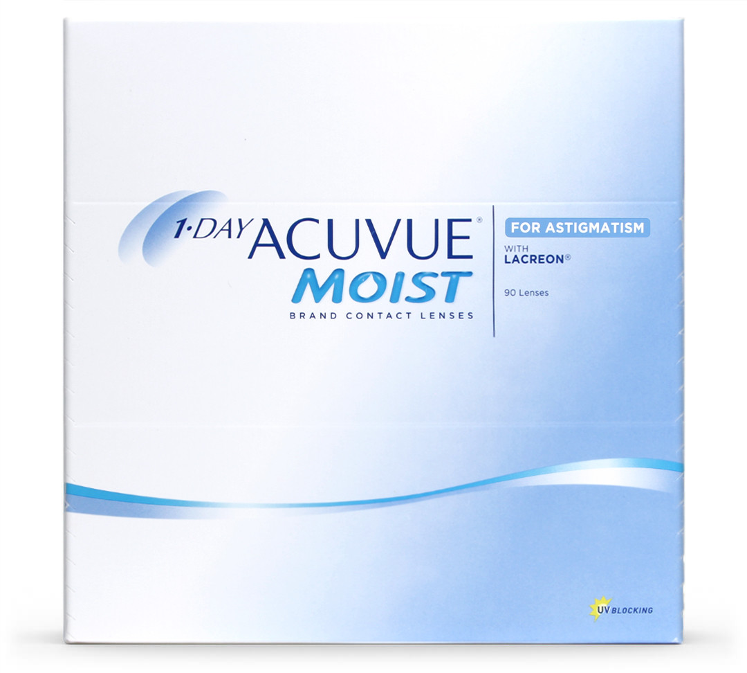 1 Day Acuvue Moist for Astigmatism (pack de 90)