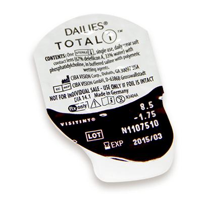 90b93422bfb61 Dailies® Total 1 Lentillas  Hasta 45% más Baratas y en 24h