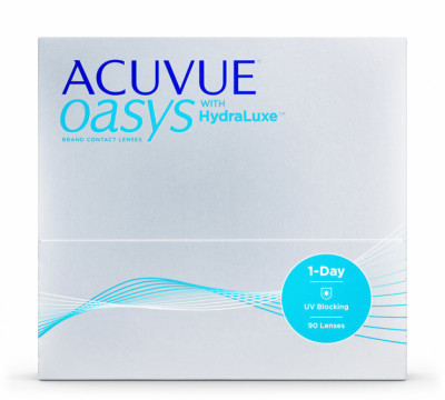 Acuvue Oasys 1-Day with HydraLuxe™ (Pack de 90)