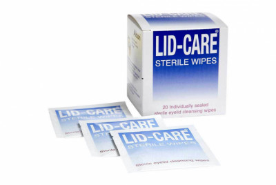 Lid Care Wipes (Toallitas)