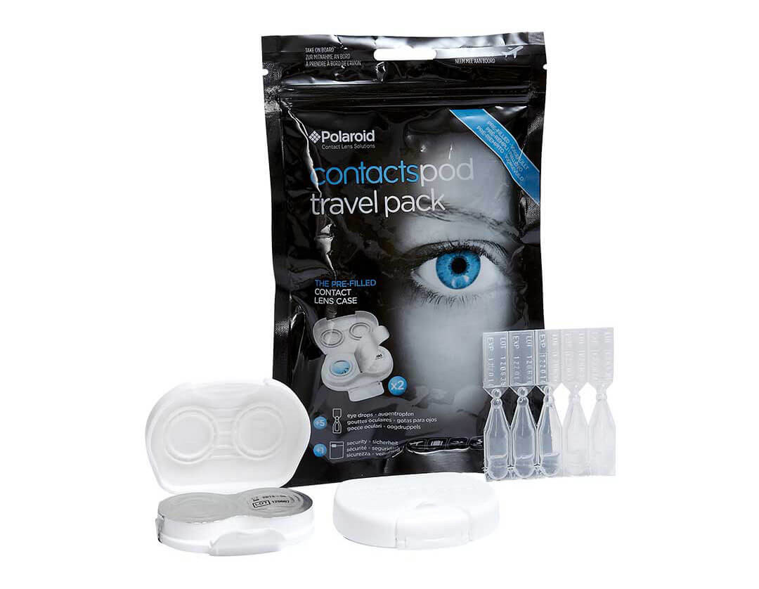 Contactspod - travel pack