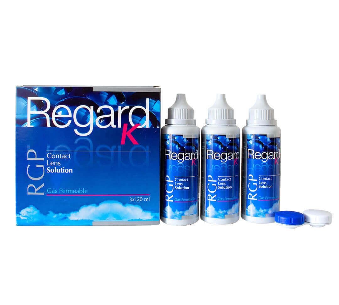 Regard K RGP Líquido para lentillas (Pack de 3 meses)