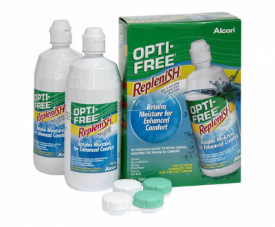 Opti-Free RepleniSH - 2 pack