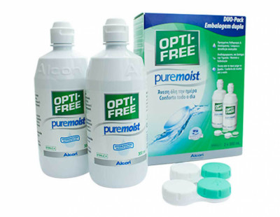 Opti-Free Puremoist (formerly Evermoist) Duo Pack