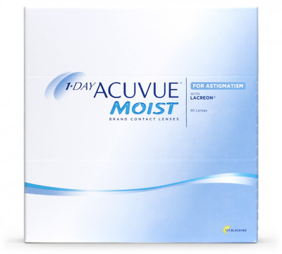 1 Day Acuvue Moist for Astigmatism 90 lenti