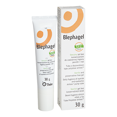Blephagel Gel Hypoallergénique 30g