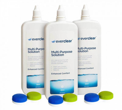 everclear Flat Pack Multi-Purpose solution - 3 flacons