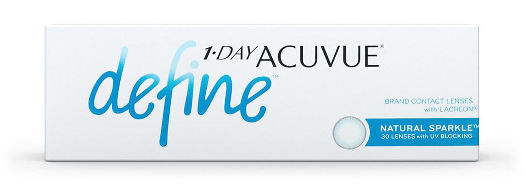 1 Day Acuvue Define Sparkle
