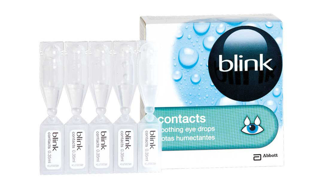 Blink Contacts Vials