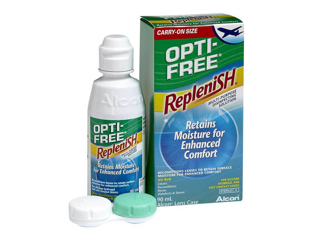 Opti-Free RepleniSH - travel pack