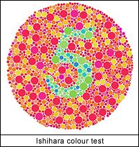 Prueba de color Ishihara