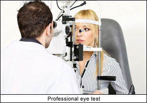Professional Eye Test