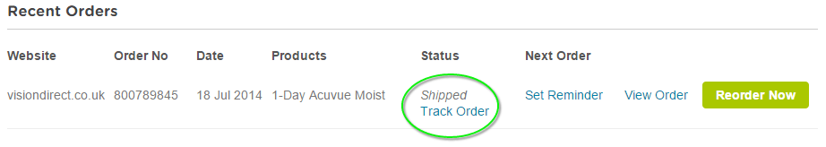 How to track your order