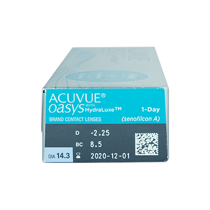 Acuvue Oasys 1-Day With HydraLuxe Lentillas   Vision Direct 17d48fe344