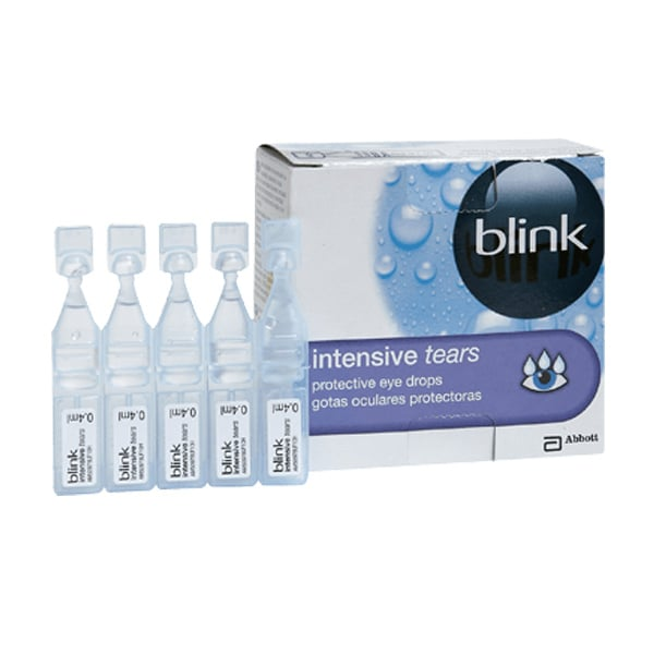 Blink Contacts Eye Drops vials