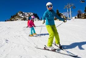 Lentillas y esquí